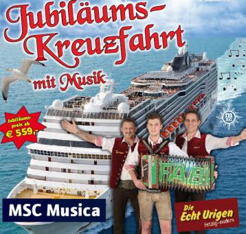 Jubiläumskreuzfahrt 15 Jahre Trodkostn - 23. April 2017 – 30. April 2017